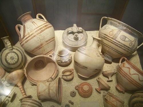 Εκθέματα στο Μουσείο της Αστυπάλαιας