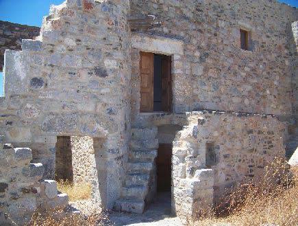 Καστρόσπιτα στο Βενετικό Κάστρο της Αστυπάλαιας