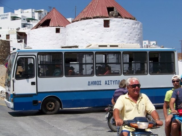 Little Buses Astypalaia