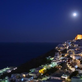Astypalaia Chora By The Night