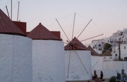 Windmills In Chora