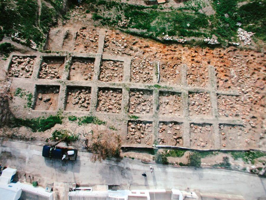 Αεροφωτογραφία | Βρεφικό Νεκροταφείο Αστυπάλαιας